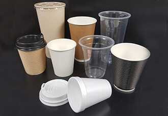 Hot Coffee and Cold Cups image