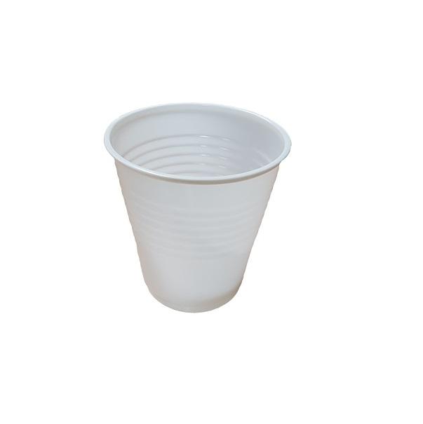 White Plastic Cups image
