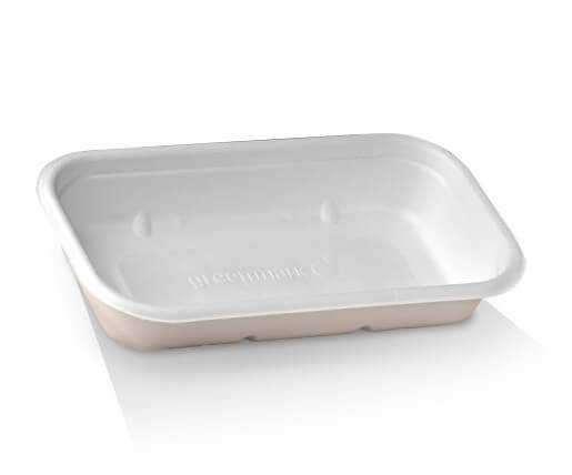 Sugarcane Takeaway Containers and Lids image