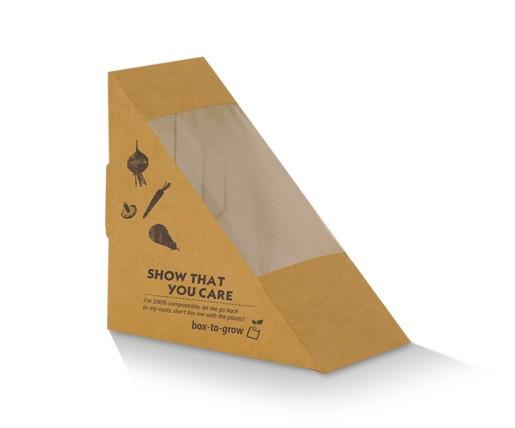 Paper sandwich wedge image