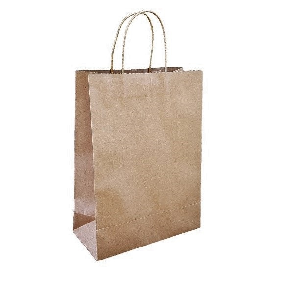 Brown Paper Carry Bags Supplies In Melbourne image