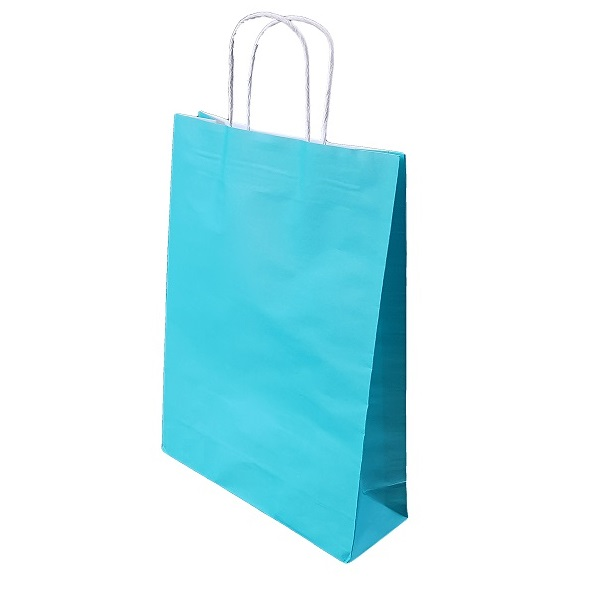Coloured paper carry bags image