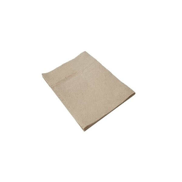 1ply kraft Dfold brown dispenser napkin image