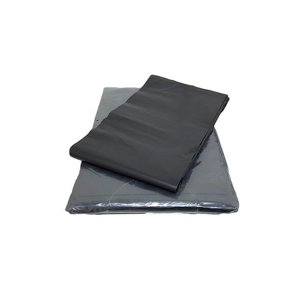 Black heavy duty garbage bags image