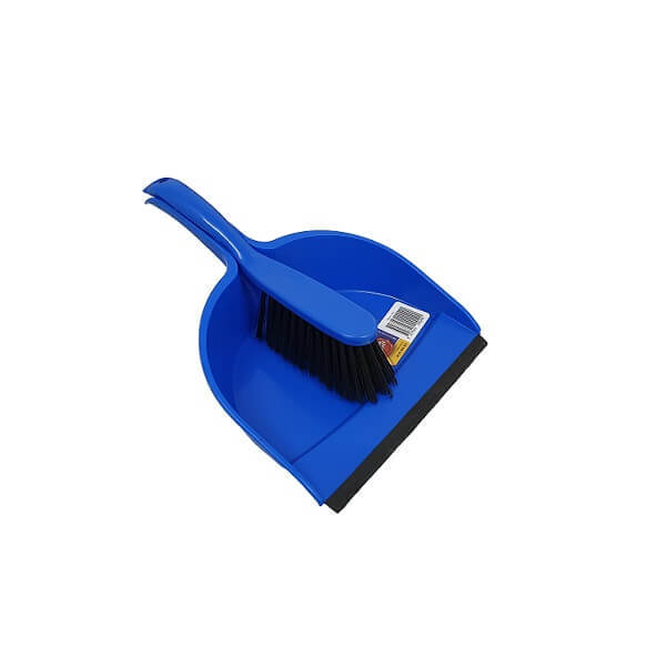 Blue dust pan set image