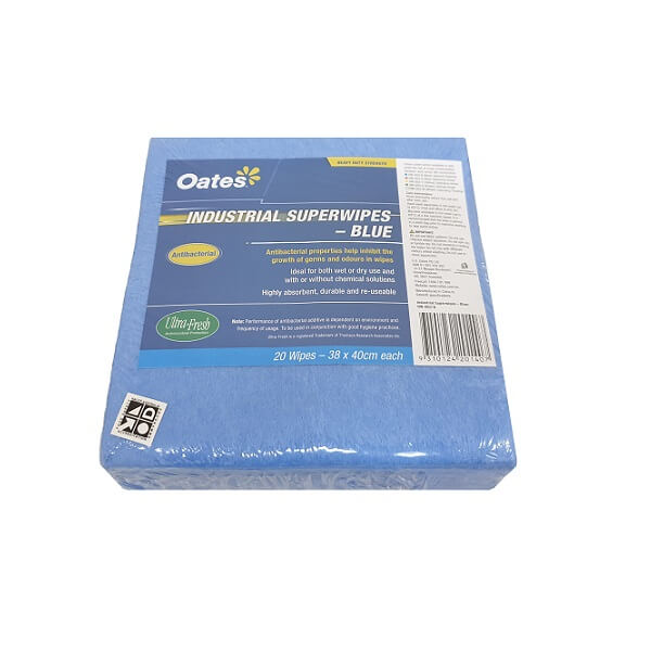 Blue industrial superwipes image