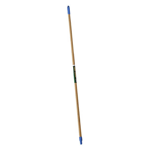 Blue screw top bamboo handle image