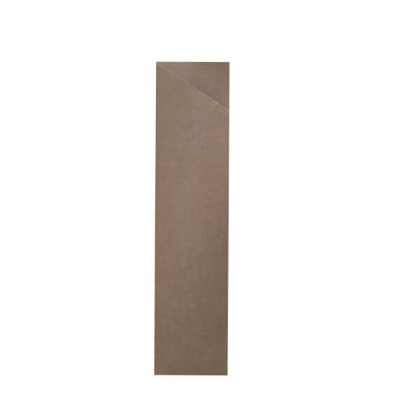Brown Cutlery Cardboard Pouches image