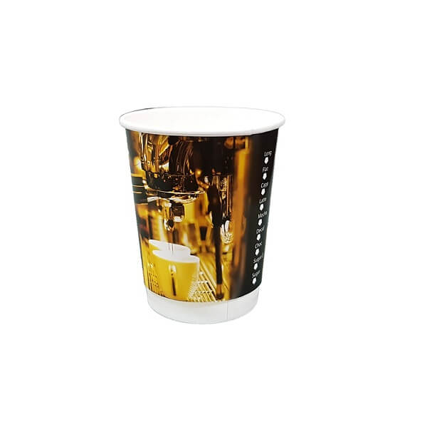 Double wall stock print paper cup image