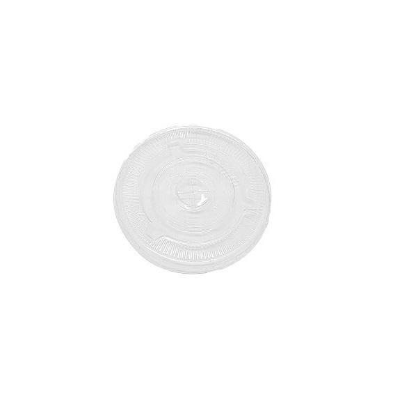 Flat PP Clear Cup Plastic Lids image