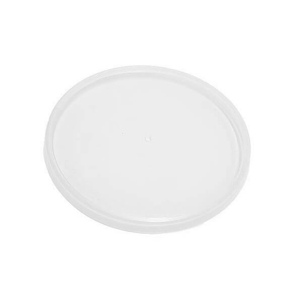 Flat Round Plastic PP Lids image