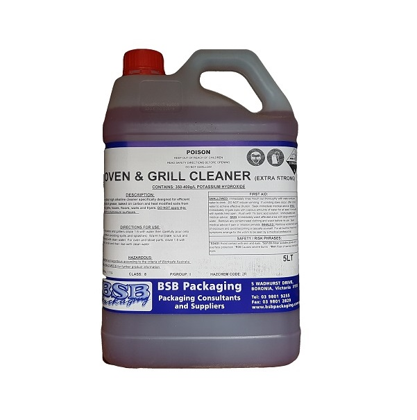 Grill and hot plate cleaner, extra strong image