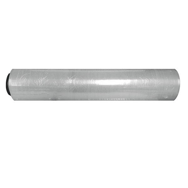 Hand pallet wrap, clear image