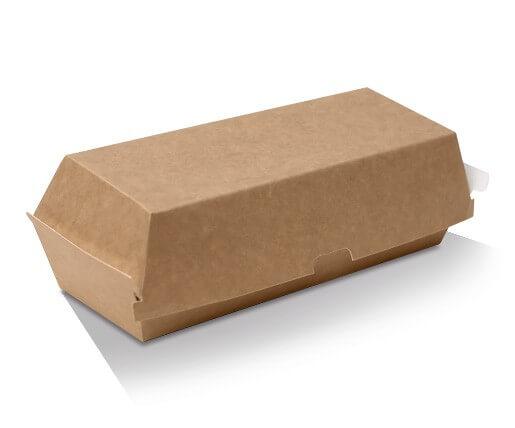 Hot Dog Box - Kraft cardboard image