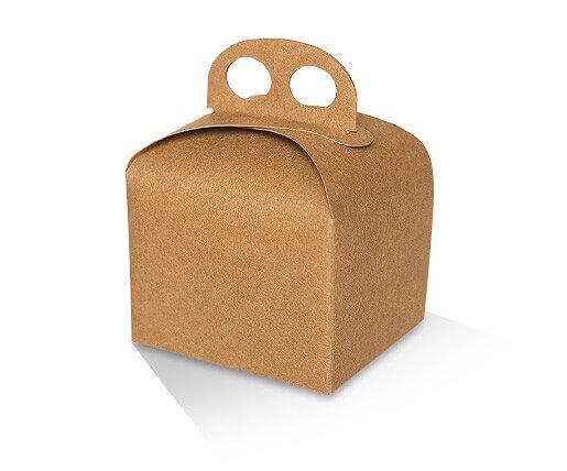 Kraft Carry Cake Box image
