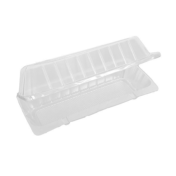 Long roll plastic pack with hinged lid image