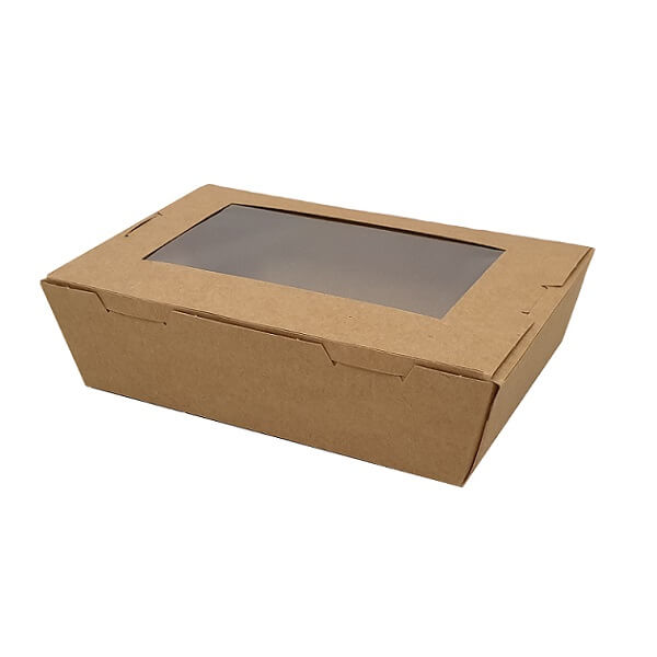 Lunch Box - Brown with Window image