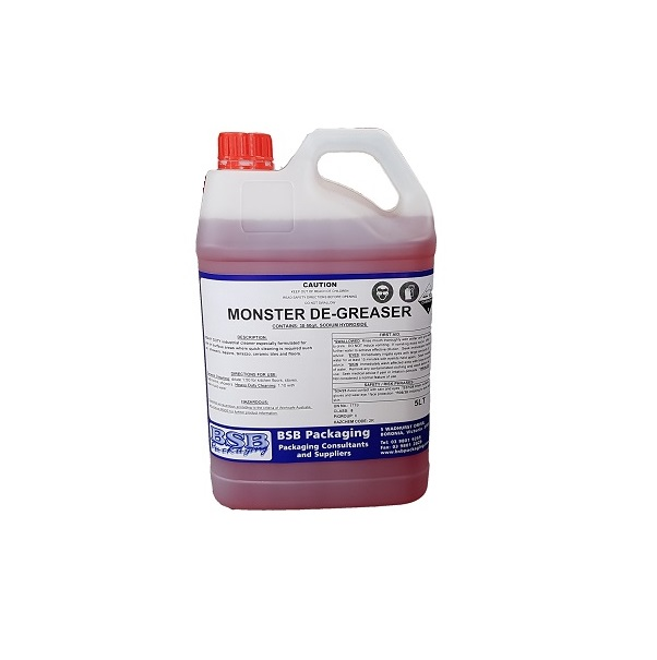 Magic clean, monster degreaser image