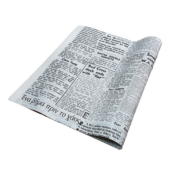 News print, grease proof paper image