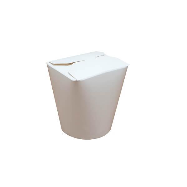 Noodle box white  image