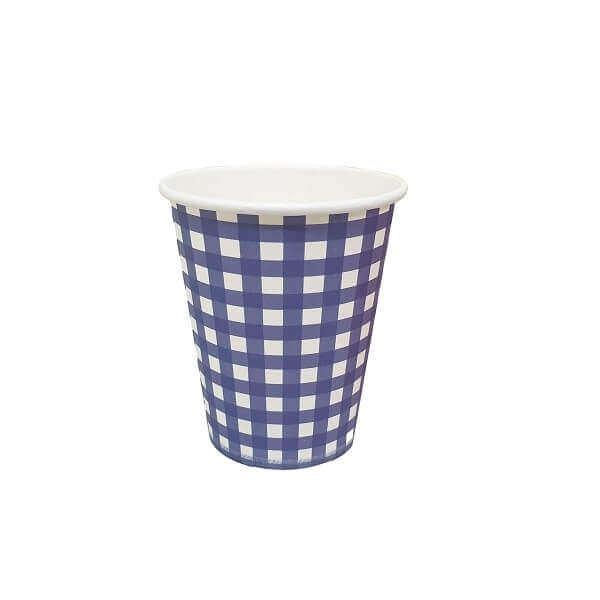 Paper coloured cold cups 250ml image