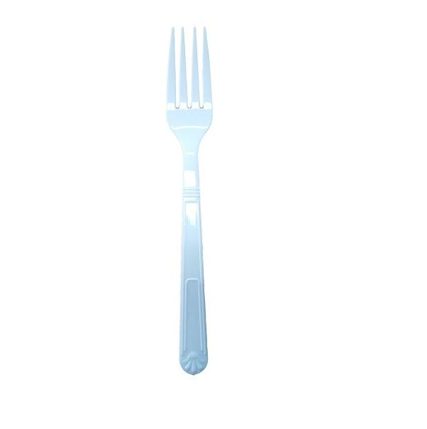 Plastic white heavy duty fork image
