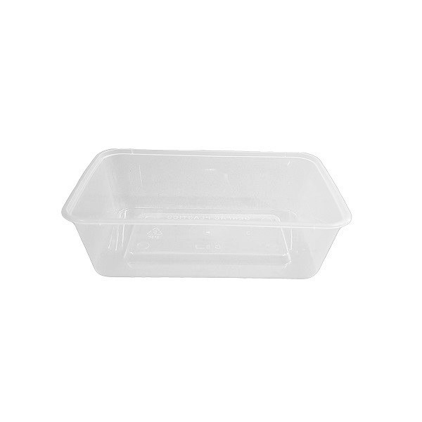 Rectangle plastic PP clear G containers image
