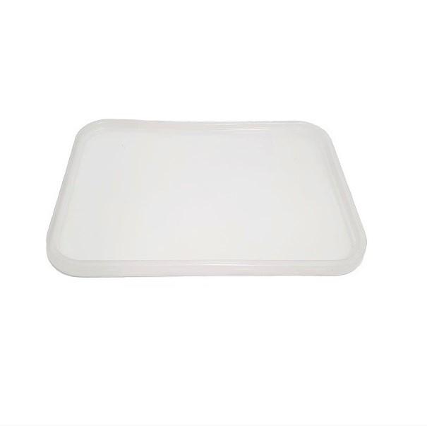 Rectangle plastic PP clear G lids image