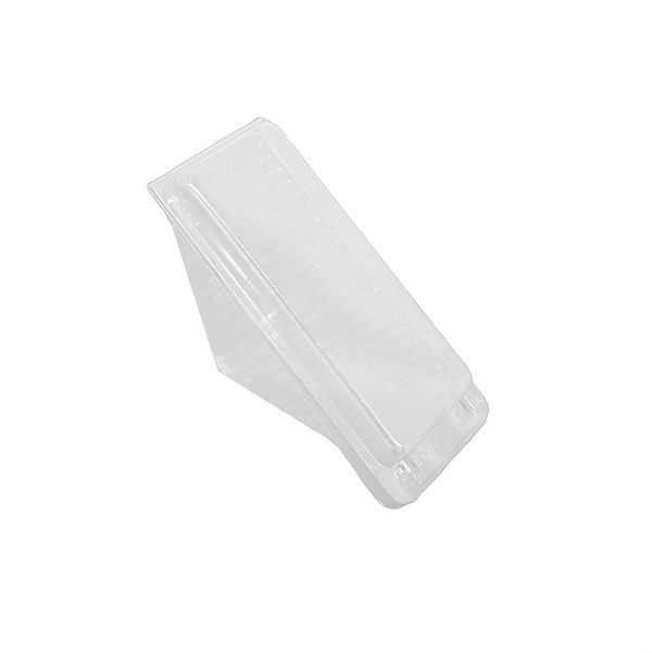 Sandwich wedge, plastic with lid image