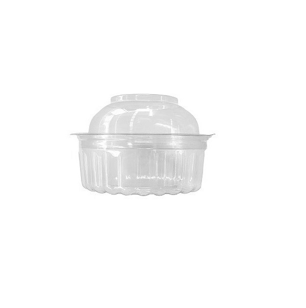 Shobowl Clear PET with Hinged Dome Lid image