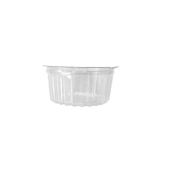 Shobowl Clear PET with Hinged Flat Lid image