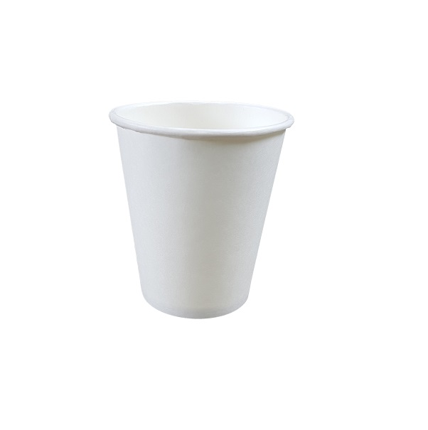 Single Wall White Paper Cup image