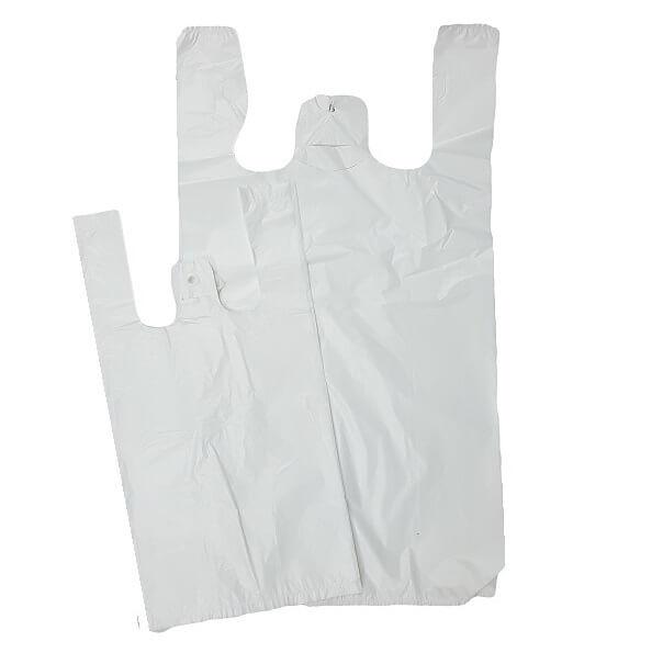 Singlet Bag White 37um - Reusable image