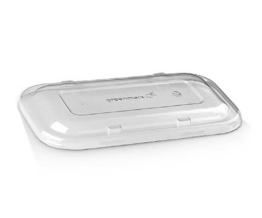 Takeaway PET clear container lid image