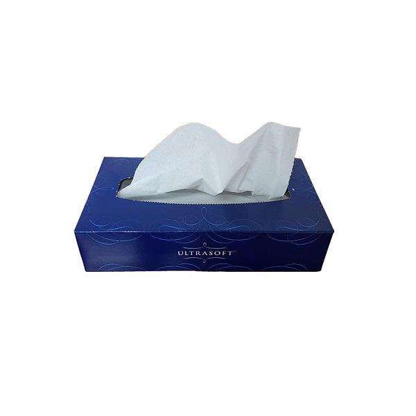 Facial tissues 2ply, 100 sheet image