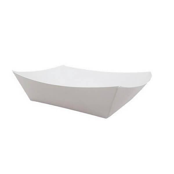 White cardboard tray image