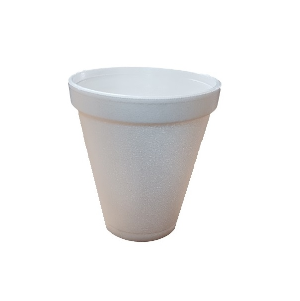 White Foam Cup image