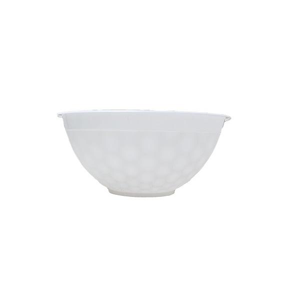 White Laska plastic bowl image