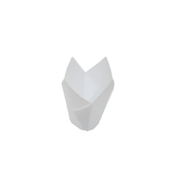 White Parchment Paper Muffin Wrap image