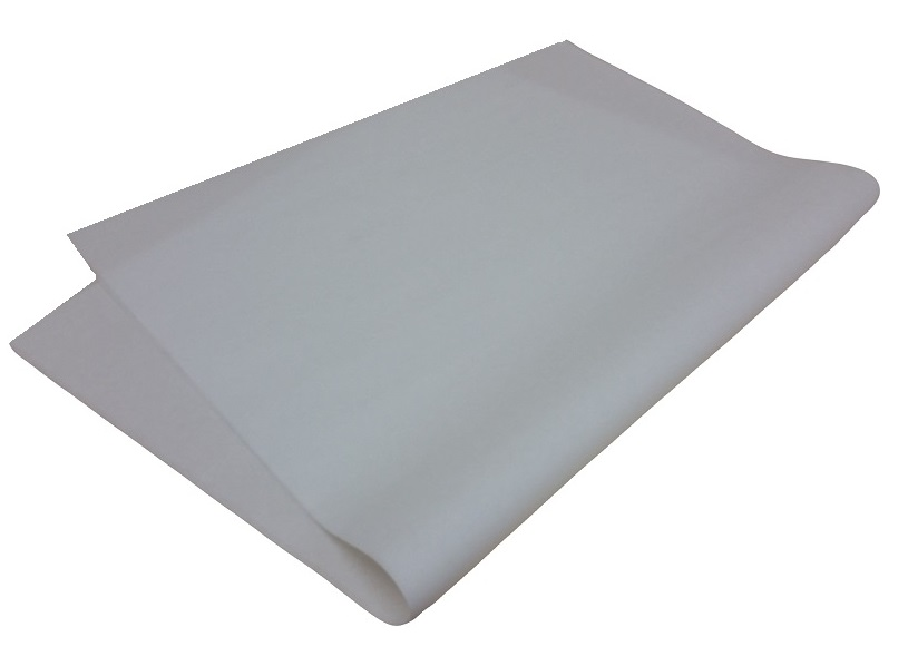 White silicone paper image