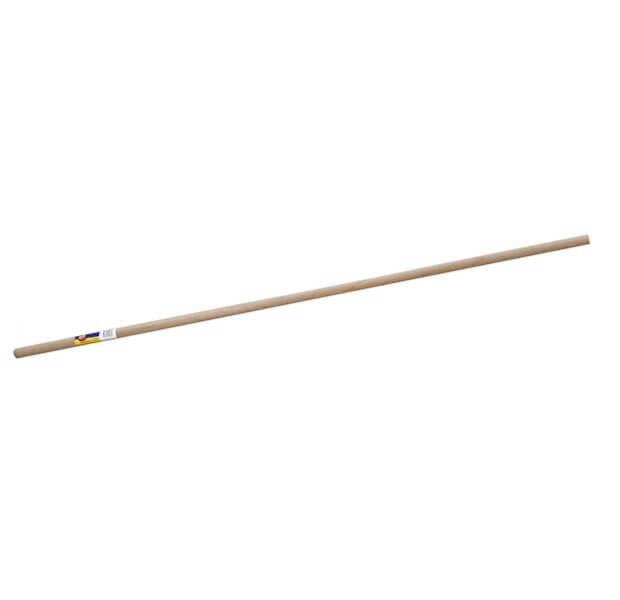 Wooden handle broom image