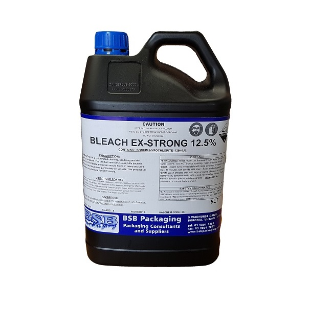 Xtra strong bleach 12.5 image