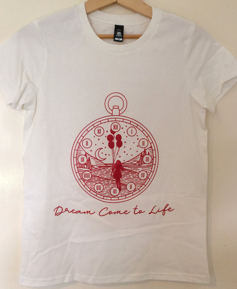 Natural Dream Come to Life T-shirt image